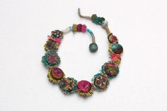 rRradionica: Portugal (revisited) . Handmade necklace