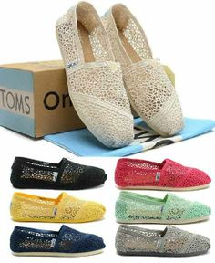 We have TOMS shoes in the UBC Bookstore. Summer styles include beautiful flat sandals!