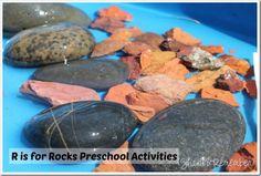 R is for Rocks | Preschool Activities
