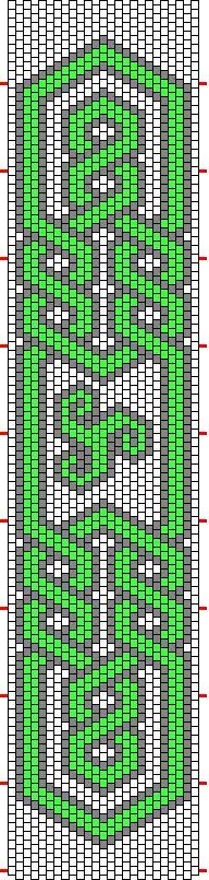 Knotwork Patterns - Beadwork - lots of good free patterns