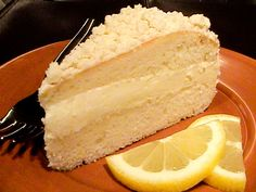 Top Secret Recipes:  Olive Garden Lemon Cream Cake Recipe