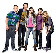 ICarly.  The kids watch it (and I love it...)  Yes, I'll admit it.  I watch ICarly.