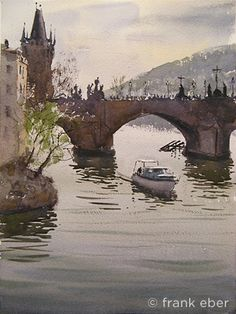 Charles Bridge, Prague,  Frank Eber'