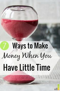 7 Ways to Find Time to Make Extra Money - Frugal Rules http://www.frugalrules.com/find-time-make-extra-money/