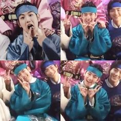 왕자~~^°^ . . @baekhyunee_exo ❤ @real__pcy . . ^•^ #Chanbaek #Baekyeol…