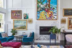 Hampton Designer Showhouse 2020 - Cottages & Gardens Inspired Homes, Home, Front Garden Design, Cottage Garden, Malibu Homes, Living Room Design Inspiration, Shingle Style Homes, Amagansett, Living Room Designs