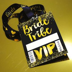 I've just found Bride Tribe Vip Hen Party Neck Lanyards. If you are a Festival Bride or having a festival style Hen Party Weekend then you need these Bride Tribe Hen Party VIP lanyards.. £3.00