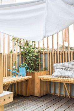 Pause farniente sur la terrasse de la maison de famille Piece A Vivre, Architecture, Zebras, Product Design, Decoration, Vintage, Gardens, Home Remodeling, Paris Suburbs