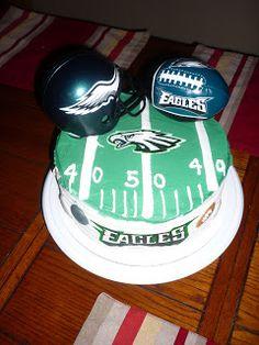 Stupendous 39 Best Philadelphia Eagles Cakes Images Philadelphia Eagles Personalised Birthday Cards Veneteletsinfo