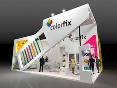 - by Roberto Jubainski Exhibition Stall Design, Showroom Design, Exhibition Display, Exhibit Design, Exhibition Stands, Exhibition Ideas, Trade Show Booth Design, Display Design, Pop Design