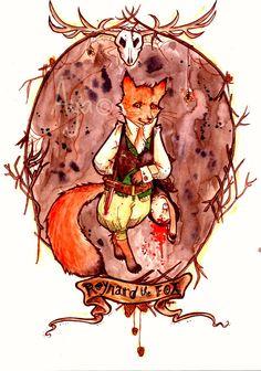 . Reynard The Fox . by Aya-Lunar