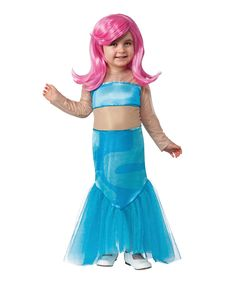 Bubble Guppies Halloween Costumes halloween party game Molly Mermaid Costume Set Toddler Girls By Bubble Guppies Zulily Zulilyfinds