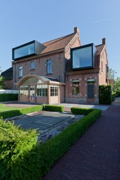 reconversion DV | drongen - Projects - CAAN Architecten / Gent