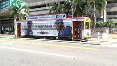 Tampa Bay HART TECO Line Gomaco Replica Birney Trolley 436 Car Bound For...