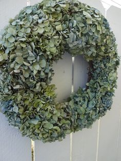 Hydrangea Wreath Natural Wreath Mothers Day Gift Garden Wreath Shabby Chic Indoor Wreath Hydrangea Decor Home Decor