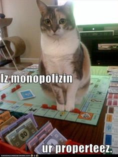 Is monopolizing property.