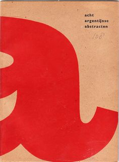 book cover by Willem Sandberg (1961)