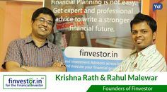 Krishna & Rahul built emarketplace for financial advisers