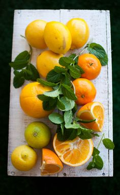 citrus...would be cool centerpiece