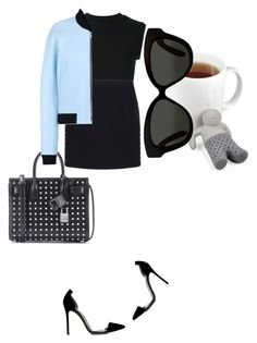 """Chillin"" by kohlanndesigns ❤ liked on Polyvore featuring Fred & Friends, Yves Saint Laurent, adidas Originals, Balenciaga, Linda Farrow, Gianvito Rossi, women's clothing, women's fashion, women and female"