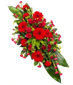 Chelmsford Florist: Sympathy Bouquets, Sprays, Crosses, Coffin Sprays and Wreaths Flower Wreath Funeral, Funeral Bouquet, Funeral Flowers, Casket Flowers, Grave Flowers, Cemetery Flowers, Types Of Flower Arrangement, Large Flower Arrangements, Funeral Caskets