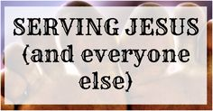 Youth Group Lesson on Serving Teach Jr High Students about Serving Jesus and Everyone Else DOWNLOAD THIS LESSON IN PDF FORM FOR FREE Bible: Ephesians 6:7 Description: Serving others all the time ju…