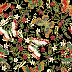 butterfly pattern, Japanese