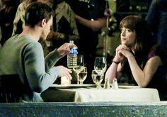 """ Jamie Dornan and Dakota Johnson filming Fifty Shades Darker last night, March 15th via @jamiedornan_org """