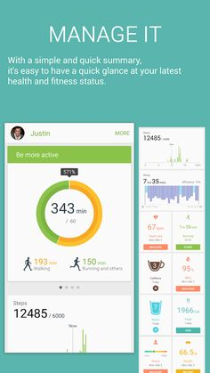 S Health – Mobile app by samsung