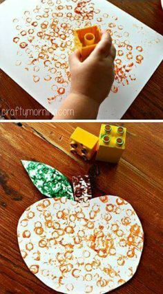 Here is a list of pumpkin crafts for kids that you can use for Halloween and . - basteln für kinder - Crafts world Kids Crafts, Fall Crafts For Toddlers, Easy Fall Crafts, Crafts For Kids To Make, Thanksgiving Crafts, Toddler Crafts, Preschool Crafts, Toddler Activities, Harvest Crafts For Kids