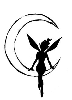 Silhouette in the Moon by ~akatheToad on deviantART