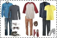 What to Wear for Senior Pics - Boys What To Wear Series - Senior Photo Shoot with Keighla's Fresh Face Photography. Styleboard and fashion ideas for what you should wear to your senior photo shoot. Summer Senior Pictures, Senior Pictures Sports, Senior Photos, Senior Session, Boy Senior Portraits, Studio Portraits, Teen Boy Fashion, Male Fashion, Korean Fashion