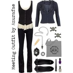 """Meeting Outfit"" by azurafae on Polyvore"