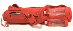yoga bag with water holder, cell phone plus tons of pockets