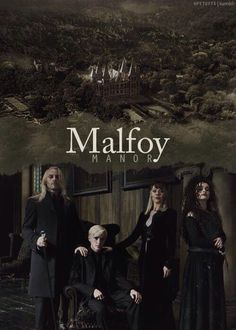 Malfoys why is Bellatrix there tho>> i think she is Dracos mums sister or half sister