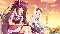 Chocolate and Vanilla Sayori Neko Works | Nekopara