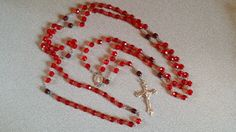 All of our PERSONALIZED ROSARIES are special order.  This particular rosary is 10 decades made in the birthstone of the customer.