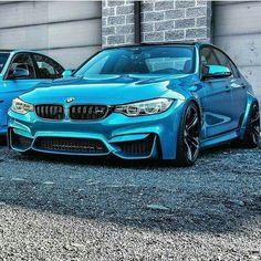 BMW F80 M3 blue