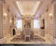 Mansion Interior, Luxury Homes Interior, Luxury Home Decor, Home Interior Design, Ceiling Design Living Room, Bedroom False Ceiling Design, Classic House Design, Dream Home Design, Fancy Living Rooms