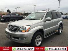 2003 Lexus GX 470 470 SUV Call for Price  miles 510-823-0261 Transmission: Automatic  #Lexus #GX 470 #used #cars #OneToyotaofOakland #Oakland #CA #tapcars