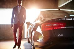 assembling an automotive photoshoot | Remarqed #Audi #a6