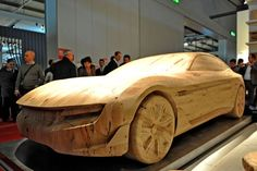 Pininfarina Cambiano in wood