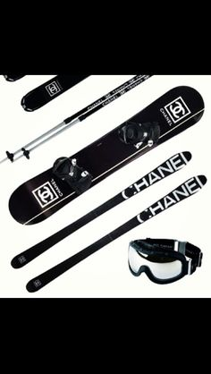 Chanel even on Sporting gear