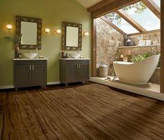 Amarela Heartwood Carob Bean U2061 Luxury Vinyl Flooring Tiles