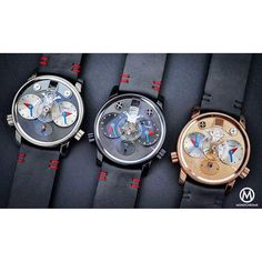 1, 2 and 3 - the new @mbandf X Alain Silberstein LM1 concept - REVIEW on @monochromewatch