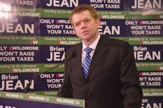 Alberta's Progressive Conservative government paid out nearly $60 million in severance the past three years, Wildrose Party Leader Brian Jean charged Wednesday during an election campaign appearance in Edmonton.