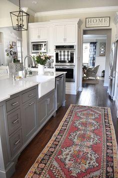 Grey Kitchen Cabinets, Kitchen Cabinet Design, Grey Kitchen, Modern Kitchen, New Kitchen, Kitchen Style, New Kitchen Cabinets, Kitchen Renovation, Kitchen Design