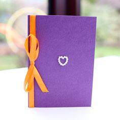 Cadburys Purple & Orange Save The Date Swirls - Vintage Wedding Stationery Scotland - VOWS Award Nominee 2013 Purple Wedding Stationery, Modern Wedding Invitations, Wedding Invitation Design, Dot Texture, Swirl Design, Gift List, Swirls, Save The Date, Floral Design