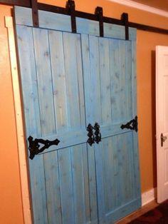 Customer Action Shots of Barn Door Hardware | Rustica Hardware