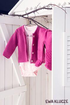 EWA KLUCZE, kolekcja BIRD, sweterek, body, półśpioch bordo, jesień-zima 2018, ubranka dla dzieci, EWA KLUCZE, BIRD collection, baby girl bodysuit, joggers, sweater, baby clothes